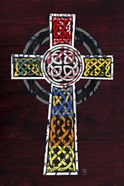 License Plate Art Celtic Cross