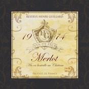 Wine Label VI