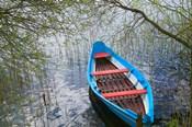 Canoe on Lake, Trakai, Lithuania