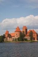 Island Castle by Lake Galve, Trakai, Lithuania III