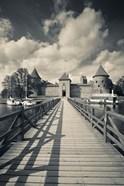 Island Castle by Lake Galve, Trakai, Lithuania IV