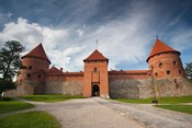 Island Castle by Lake Galve, Trakai, Lithuania VI