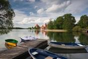 Island Castle by Lake Galve, Trakai, Lithuania VII