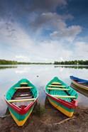 Lake Luka, Trakai Historical National Park, Trakai, Lithuania