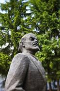 Lithuania, Grutas Park, Statue of Lenin II