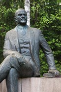 Lithuania, Grutas Park, Statue of Lenin III