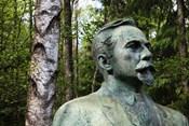 Lithuania, Grutas, Statue of Mickevicius-Kapsukas