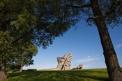 Lithuania, Kaunas, Ninth Fort Monument, WWII
