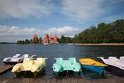 Lithuania, Trakai Historical NP, Lake Galve