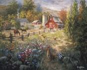 Grazing The Fertile Farmland