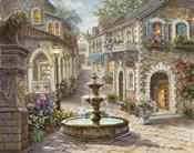 Cobblestone Fountain