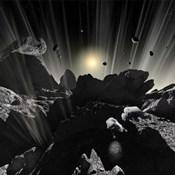 Astronauts explore the tumultuous surface of a Comet
