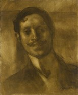 Portrait Of A Man, Said To Be Marcel Proust