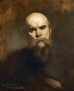 Portrait Of The Poet Paul Verlaine (1844-1896)