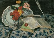 Flowers, Faience and Books