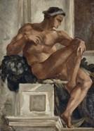 Ignudo, After Michelangelo, 1858-1860