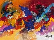 Abstract Red and Yellow 1