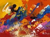 Abstract Orange Summer 3