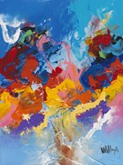 Abstract Ocean Blue 4