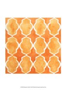 Watercolor Tiles IX