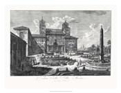 Veduta della Villa Medici