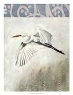 Waterbirds in Mist II
