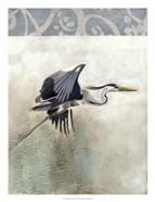 Waterbirds in Mist III