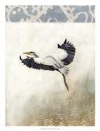 Waterbirds in Mist IV