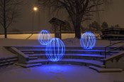 Spheres On The Steps