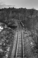 Lonely Tracks B&W