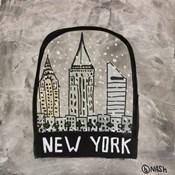New York Snowglobe