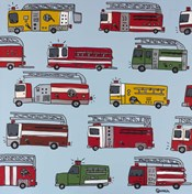 Fire Trucks Blue