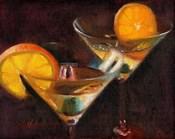 Orange Martini Cocktail