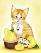 Lemon Cupcake Kitten