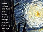 Great Things - Van Gogh Quote 1