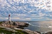 Lighthouse in Peggys Cove, Nova Scotia