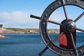 Harbor and Boat Wheel