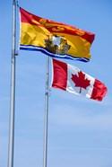 Canada, New Brunswick Flag