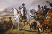 Painting of Napoleon in Hall of Battles