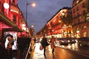 Boulevard Haussmann, Paris, France