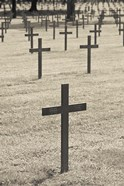 Neuville St-Vaast, WWI German military cemetery, Pas de Calais, France