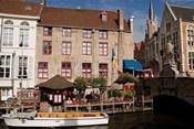 Canal Cafe, Bruges, Belgium