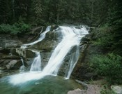 Glacier National Park Waterfall 7