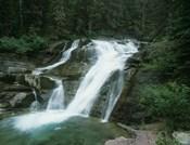 Glacier National Park Waterfall 7