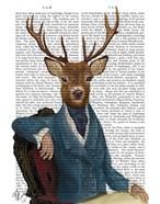 Distinguished Deer Portrait
