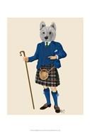 West Highland Terrier in Kilt