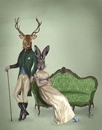 Mr Deer and Mrs Rabbit
