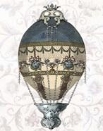 Baroque Balloon Blue & Cream