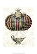 Baroque Balloon with Clock
