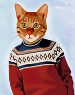 Cat in Ski Sweater